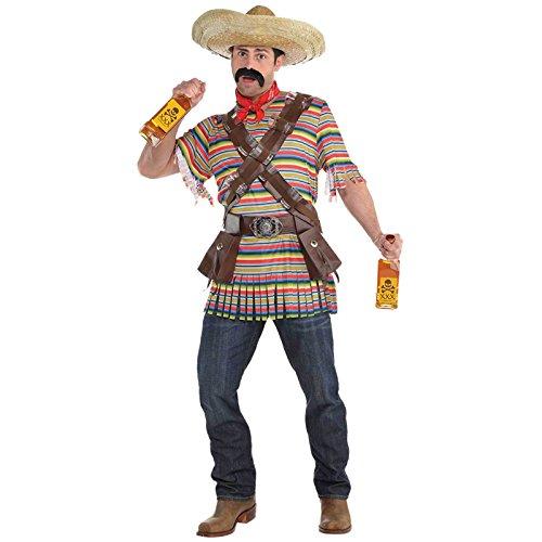 Tequila Bandit Mexikaner Kostüm Herren ()