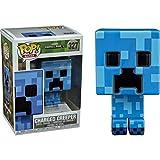 Funko - Figurine Minecraft - Skeleton In Fire Exclu Pop 10cm - 0889698264174