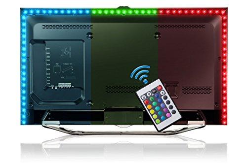 Briloner Leuchten 2353–024, 2m LED TV iluminación, cinta de LED, Tira LED,...