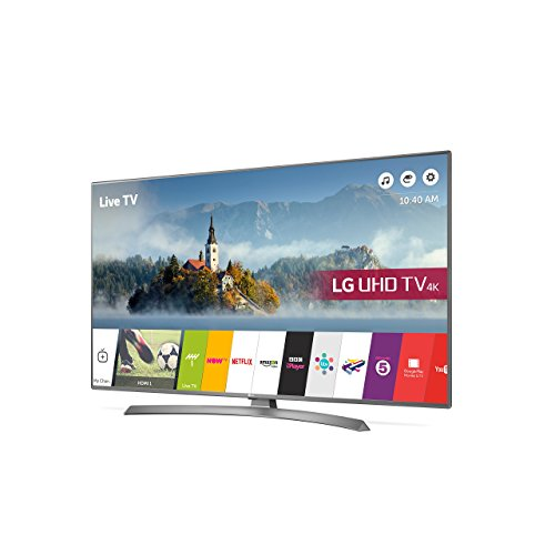 LG Electronics LG 43UJ670V 43 inch 4K Ultra HD HDR Smart LED TV (2017 Model) (Certified Refurbished)