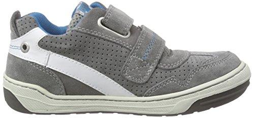 Lurchi Bruce, Sneakers basses garçon Gris - Grau (grey 29)