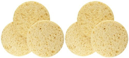 EcoTools, Cellulose Facial Sponges, 3 Sponges