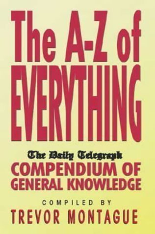 "An A-Z of Everything: ""Daily Telegraph"" Compendium for sale  Delivered anywhere in UK"