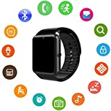 Umiwe Smart Watch Touchscreen-Uhr mit Kamera SIM-Kartensteckplatz Schrittzähleranalyse Schlafüberwachung, Fitness-Tracker-Kamera-Schrittzähler - GT08 Smartwatch