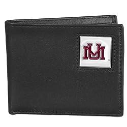 NCAA Montana Grizzlies Leather Bi-fold Wallet
