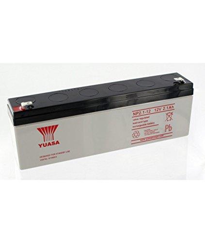 Yuasa - Batterie Plomb Yuasa 12V 2.1Ah NP2.1-12 - NP2112