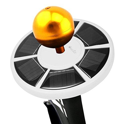 OxyLED® Lampada Solare LED Luminoso per Pennone