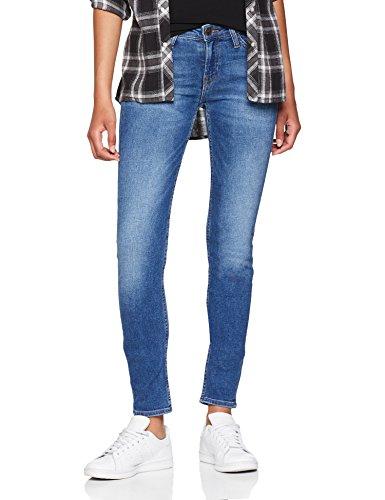 Lee Damen Scarlett Skinny Jeans, Blau (Blue Drop Em), W28/L33 Lee Basic Jean