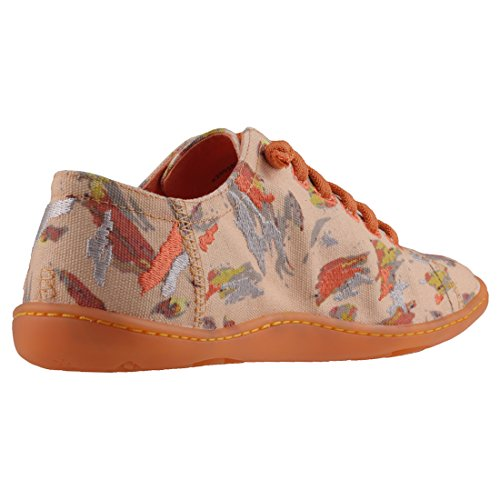 CAMPER Twins Damen Schuhe Orange Gum