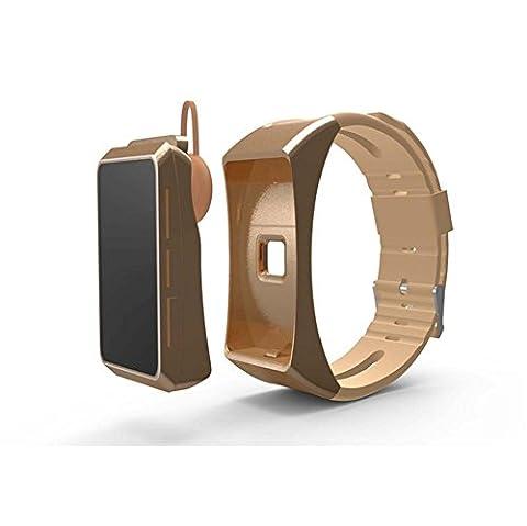 WGE Sans Fil Smart Headset Bracelet Fonctionnement Hang Oreille Bluetooth Type Mouvement Coeur Table À Main , 3