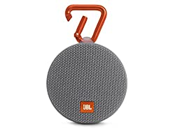 JBL Clip 2 Waterproof Bluetooth Speakers (Grey)