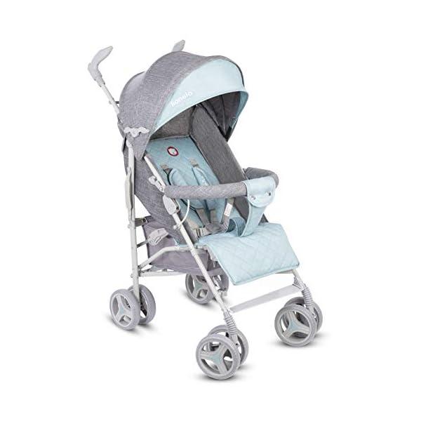 Lionelo Irma Folding Stroller with Backrest Adjustment 6 Inch Wheels Lionelo  7