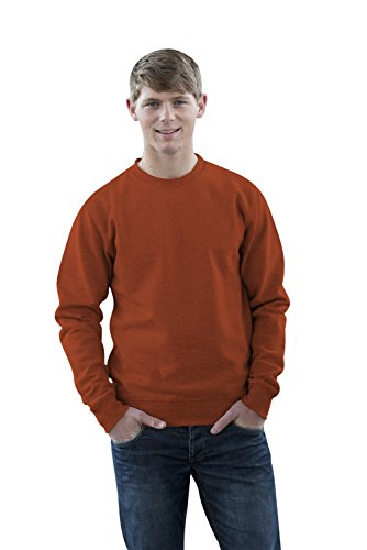 JH030 Sweater Sweatshirt Sweat Sweater Pullover Burnt Orange