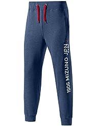 Mizuno Hombre k2ed5501–14Heritage Pantalones largos 1906JPN Rib Pants Marina, color 14, tamaño XXL