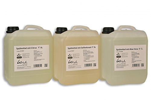 Ulrich natürlich Spülmittel mit Aloe Vera Sparpreis 5 liter