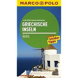MARCO POLO Reiseführer Griechische Inseln, Ägais: Reisen mit Insider-Tipps. Mit EXTRA Faltkarte & Reiseatlas Autovermietung Griechische Inseln