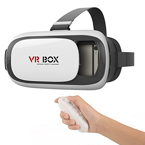 JT VR BOX 2.0 Virtual Reality 3D Glasses, 3D VR Headsets for 4.7~6 Inch Screen Phones iphone 4S, iphone 5s, IPhone 6 / 6 S , Samsung LG Sony HTC, Nexus 6 etc.