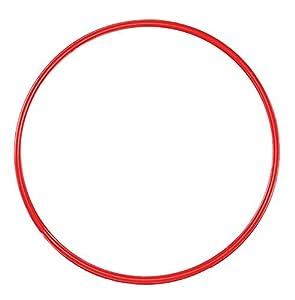 agility sport pour chiens - cerceau Ø 50 cm, rouge - 1x R50r