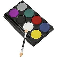 pintura corporal de colores de pintura pigment cuerpo maquillaje dcor halloween