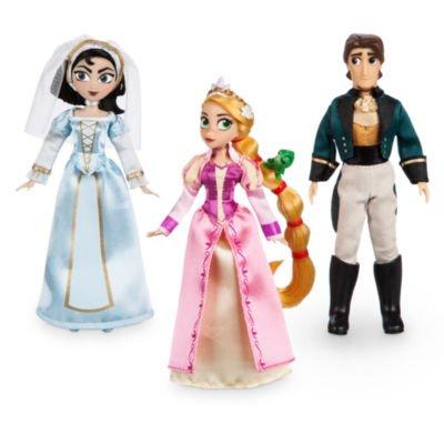Kostüme Pan Figuren Peter (Tangled: Die Serie Mini Doll Set beinhaltet Rapunzel, Cassandra und)