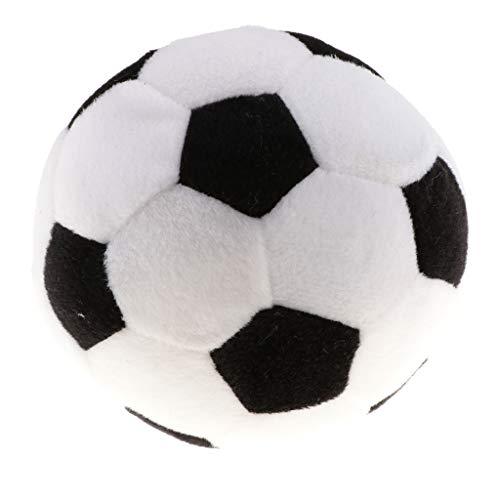 Plüschball Babyball Rasselball Ball Spielzeug mit Glocke und Soundkontrolle - Fußball