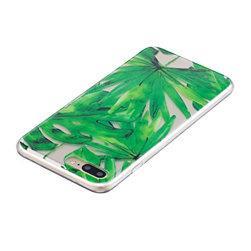 """Hülle für Apple iPhone 7 Plus , IJIA Transparente Niedlich Einhorn TPU Weich Silikon Stoßkasten Cover Handyhülle Schutzhülle Handytasche Schale Case Tasche für Apple iPhone 7 Plus (5.5"""") (WM111) WL5"""