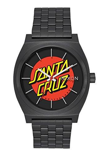 Nixon Herren Analog Quarz Uhr mit Edelstahl Armband A045-2895-00