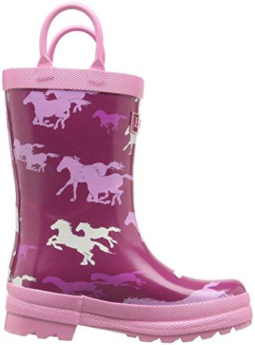 Hatley  Fairy Tale Horses Rainboot, Bottes fille Rose
