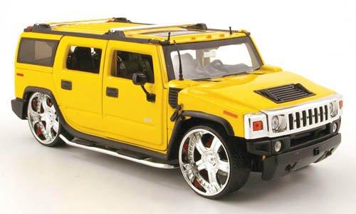 hummer-h2-tuning-met-amarillo-modelo-de-auto-modello-completo-jada-124