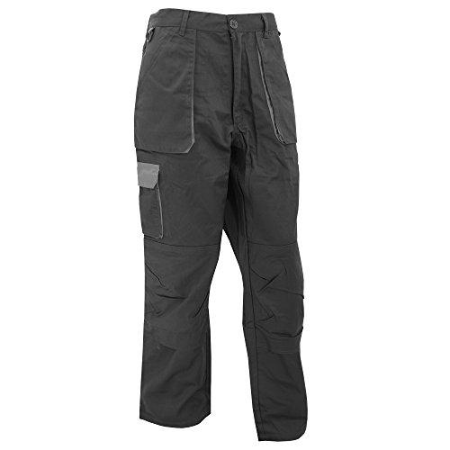 Pantalon de travail TEXO Longueur de jambe 79 cm Noir