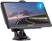Bluetooth Navi Navigation für Auto LKW PKW GPS Navigationsgerät 7 Zoll mit Freisprecheinrichtung Blitzerwarnun