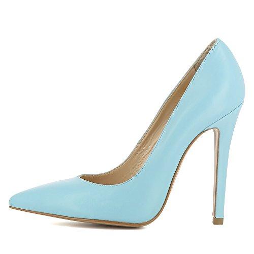 Evita Shoes Lisa, Hellblau Chaussures À Talons Hauts Pour Femmes