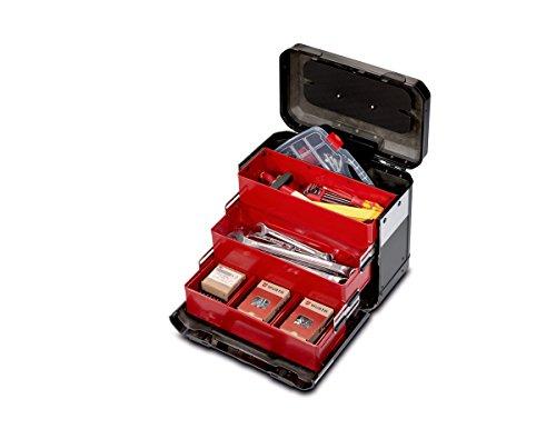 PARAT 2.012.520.981 Evolution Schubladenkoffer, schwarz/silber (Ohne Inhalt)