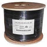 Installerparts 304,8m RG6Câble coaxial à quadruple blindage CMP Blanc, blindage en cuivre