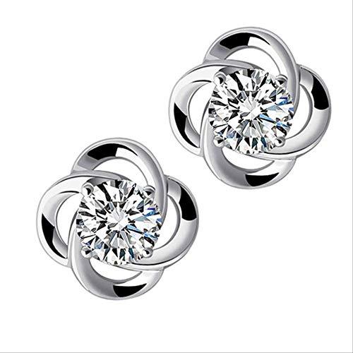 KBWL Orecchini Nuovi orecchini zirconi cubici Donna stile casual Orecchini zirconi personalizzati Gioielli in argento sterlingXZS-xingfu