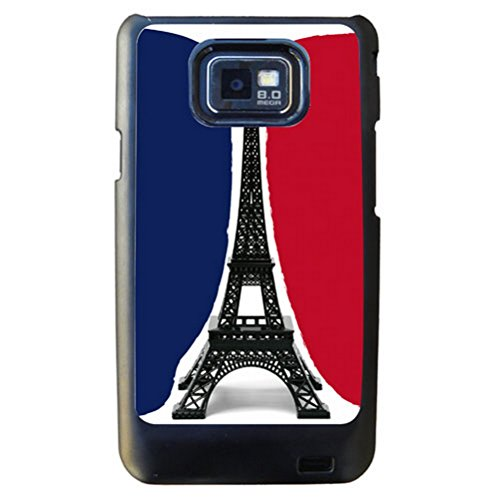 Coque Samsung S2 noire Paris by Cbkreation