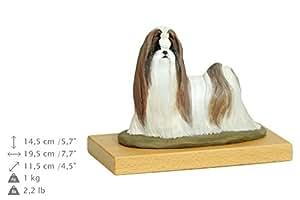 Shih Tzu, Chien statue de base en bois, peint, édition limitée, faire votre propre statue, ArtDog