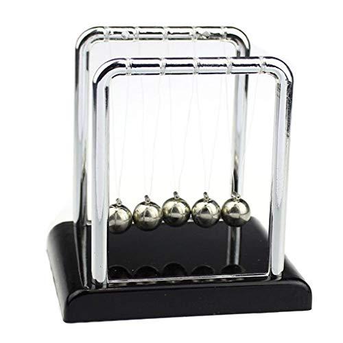 Vkospy culla modello fun acciaio sfere dell'equilibrio fisica scienza pendolo office desktop regalo toy ornamento