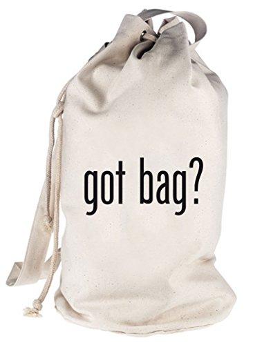 Shirtstreet24, Got Bag? bedruckter Seesack Umhängetasche Schultertasche Beutel Bag Natur