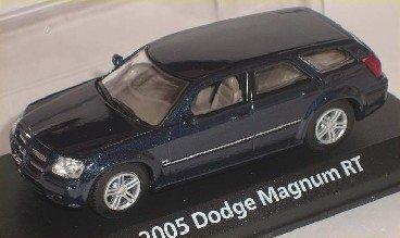 dodge-magnum-rt-r-t-kombi-blau-blue-1-43-motormax-motor-max-modellauto-modell-auto