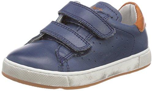 Naturino Jungen 5260 VL Sneaker Blau (Navy-Ocra), 32 EU -