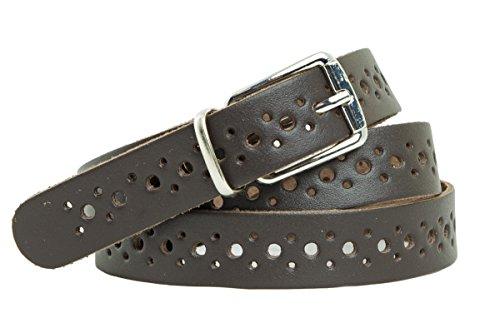 shenky Cintura vera pelle con buchi qualità tedesca 115 x 2 da uomo e da donna