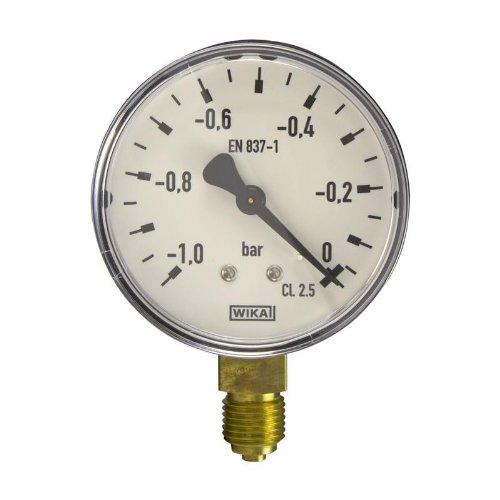 Wika Manometer (Manometer, NG63, -1-0 bar - WIKA 111.10 - 9012974)