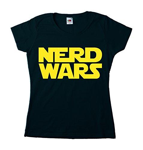 Nerd Wars Girly Schwarz