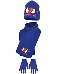 Spiderman - Ensemble bonnet, écharpe et gants - Garçon