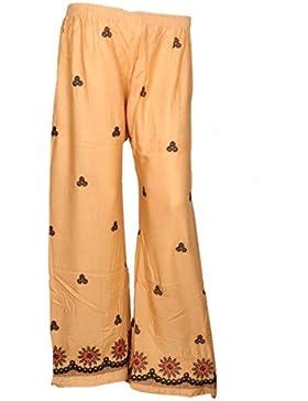 Indistar Regular Fit Women Beige Trousers