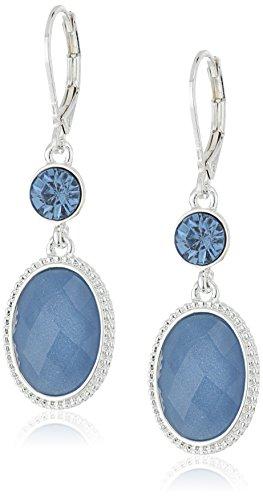 nine-west-ovalado-doble-gota-plateado-y-azul-pierced-pendientes