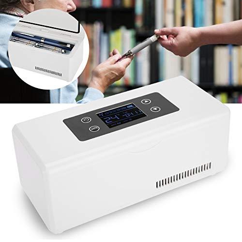 Medikamentenkühlschrank - Tragbarer Insulinkühler für Auto, Reise, Zuhause - Tragbarer Reisekühlkoffer/kleine Reisekiste für Medikamente - Moderne Computer-kästen