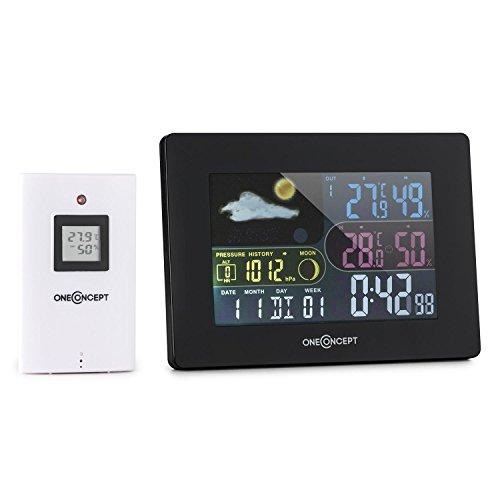 oneConcept Uddevalla stazione metereologica con sensore esterno e display a