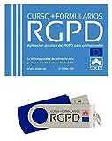USB Curso RGPD + Formularios Curso práctico de RGPD + Formularios + Videotutoriales + Exámenes + Temas complementarios. Conviértete en un experto en RGPD